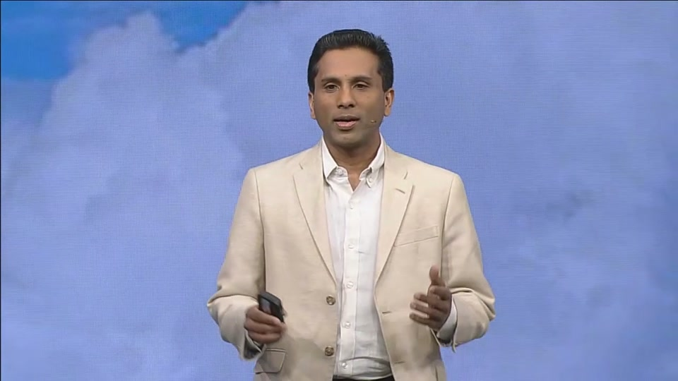 joseph sirosh presents the how old robot at the build 2015