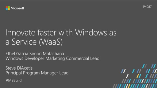 Innovate faster with Windows as a Service (WaaS)