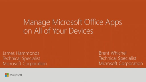 Manage Microsoft Office apps on all of your devices