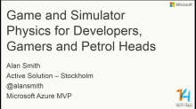 Game and Simulator Physics for Developers, Gamers and Petrol Heads