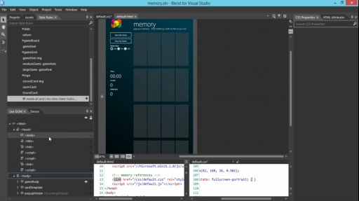 How Do I: (Part 6) Using Blend to Design HTML5 Windows 8 Apps: Support Portrait View