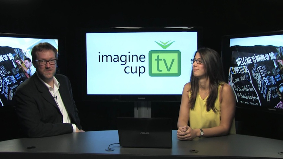 ICTV010: BBC's Matt Smith hosts Imagine Cup!