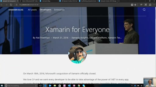 Quick Dev: Xamarin for Everyone: The Latest News and Updates since Build 2016 and Xamarin Evolve 2016