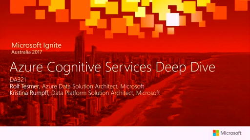 Deep Dive into Azure Cognitive Services