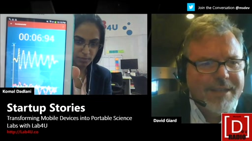 Startup Stories: Transforming Mobile Devices into Portable Science Labs with Lab4U