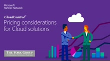 3-Pricing Considerations for Cloud Solutions