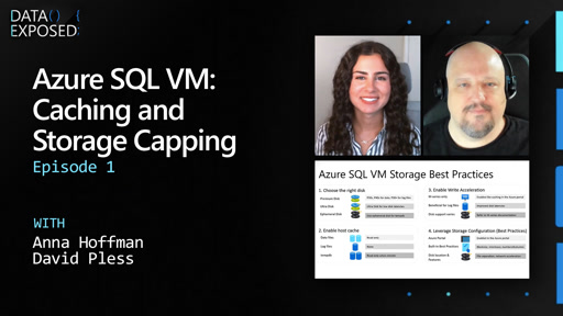 Azure SQL VM: Caching and Storage Capping (Ep. 1)