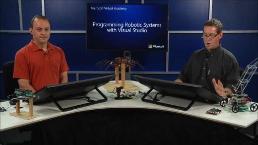 Programming Robotic Systems with Visual Studio: (04) Controlling a Robotic Arm