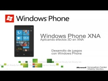 Efectos 3D de XNA en Windows Phone