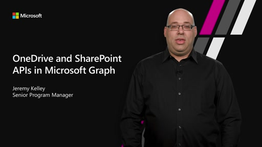 OneDrive and SharePoint APIs in Microsoft Graph