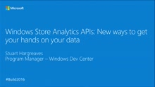 Windows Store Analytics APIs: New Ways to Get Your Hands on Your Data