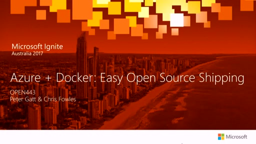 Azure + Docker: Easy Open Source Shipping