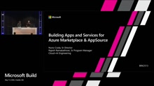 Building Apps and Services for Azure Marketplace and AppSource
