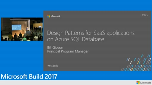 Design Patterns for SaaS applications on Azure SQL Database