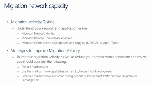Office 365 Performance Management: (03) Planning for Office 365 Internet Capacity – Exchange Online