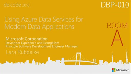 Using Azure Data Services for Modern Data Applications