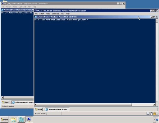 Windows PowerShell V2 Remote Sessions