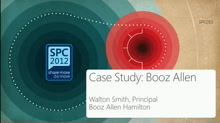Customer Showcase: How Booz Allen is using Social capabilities of SharePoint and Yammer