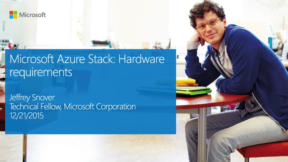Microsoft Azure Stack: Hardware requirements for upcoming release