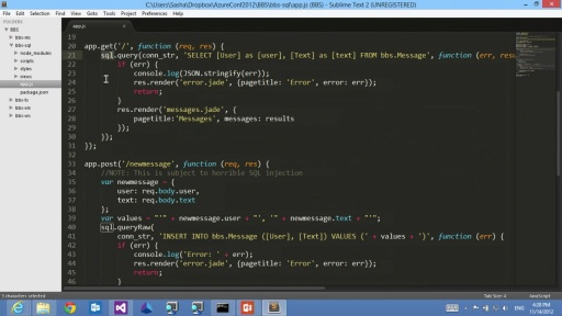 JavaScript, Meet Cloud: Node.js on Windows Azure