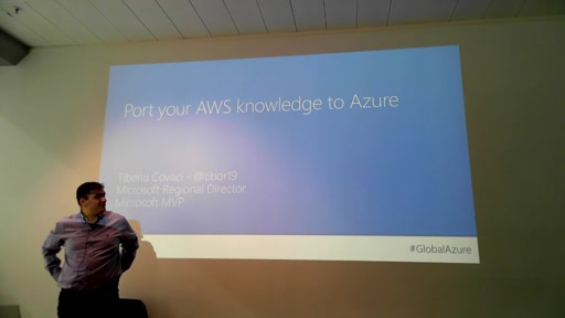 Track 3 Sesión 1 - Port your AWS knowledge to Azure
