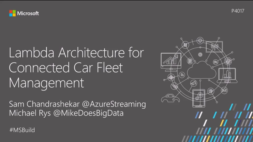 Lambda Architecture for Connected Car Fleet Management