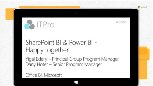 SharePoint BI and Power BI - Happy Together