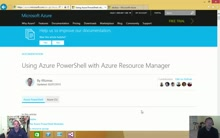 Deploying Virtual Machine via Azure Resource Templates with Visual Studio for IT Pros