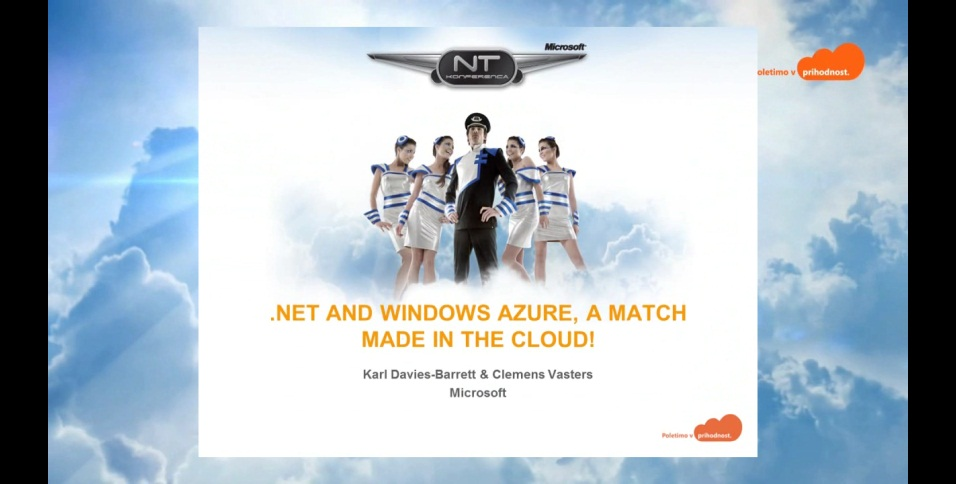 NTK - .NET and Windows Azure, a match made in the cloud!
