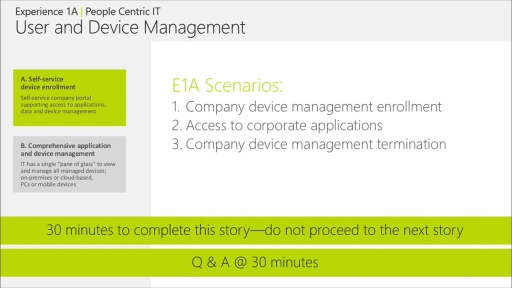 People-centric IT Immersion: (01a) Evolve Experience - User and Device Management, Part 1