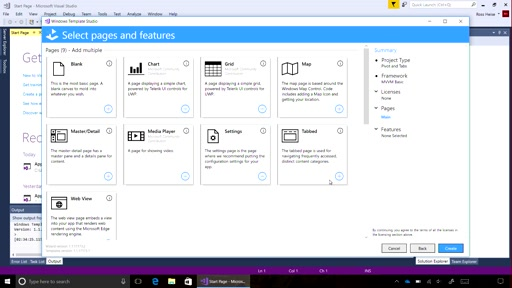 Getting Started with Windows Template Studio