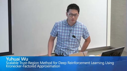 Scalable Trust-Region Method for Deep Reinforcement Learning Using Kronecker-Factored Approximation
