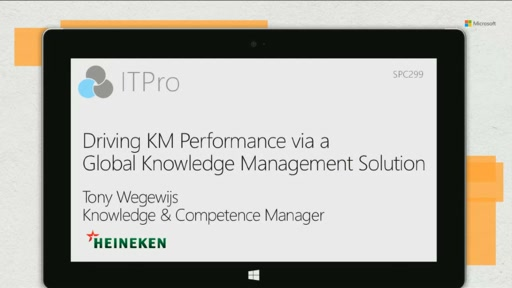 Heineken: driving KM performance via a global knowledge management solution
