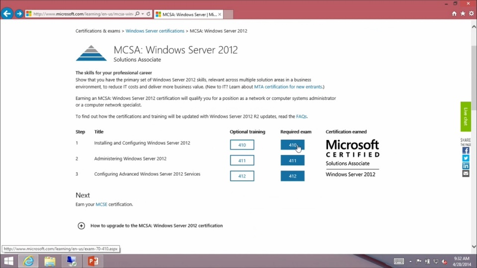 Windows Server Mcsa Certification Objective Domain Review 02 Exam