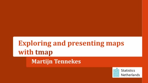Exploring and presenting maps with **tmap**