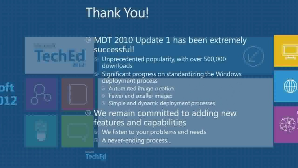 What's New in Microsoft Deployment Toolkit 2012 (MDT)