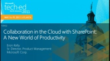 Collaboration in the Cloud with SharePoint: A New World of Productivity