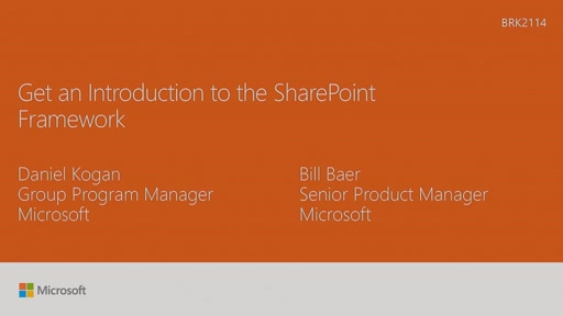 Get an introduction to the SharePoint Framework