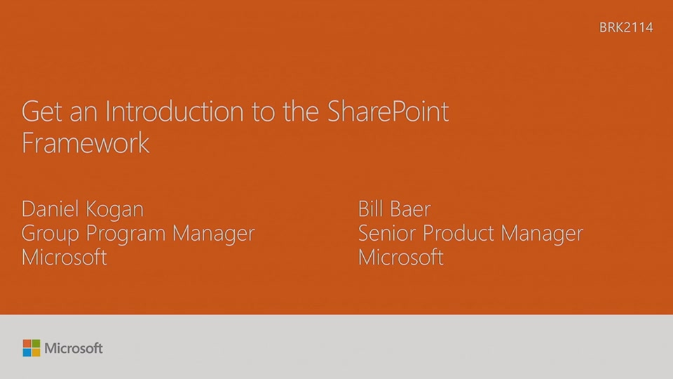 Learn about PnP and the new SharePoint Framework | Microsoft