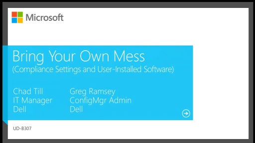 Compliance Settings and Control End–User Installed Software