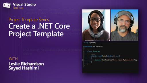 Create a .NET Core Project Template