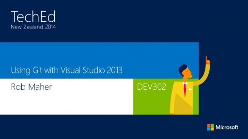 Using Git with Visual Studio 2013