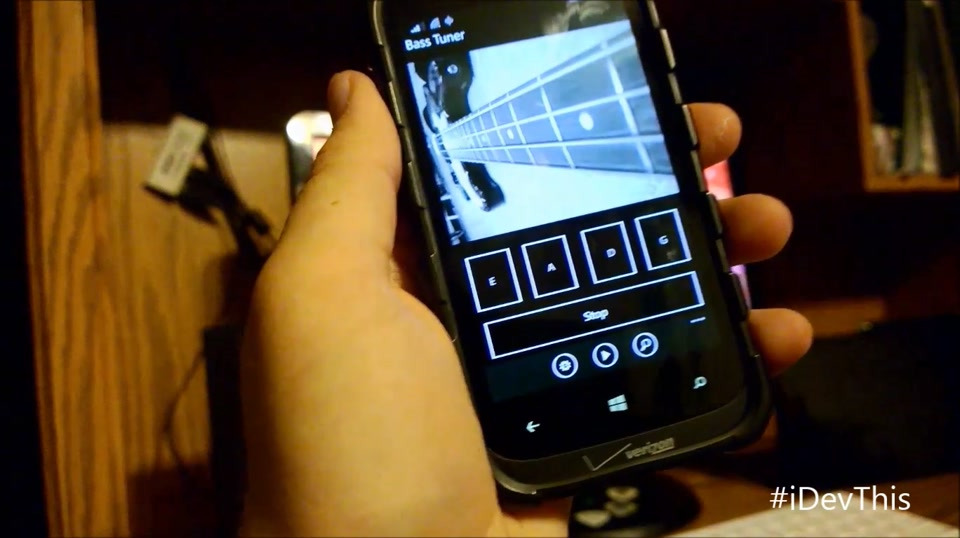 "Zack Bowling, Creator of ""Bass Tuner"" for Windows Phone"