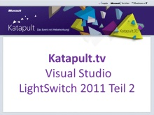 Visual Studio LightSwitch 2011 - Teil 2/2