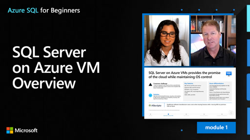 SQL Server on Azure VM Overview (4 of 61)