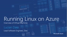 01 | Linux in Azure – overview