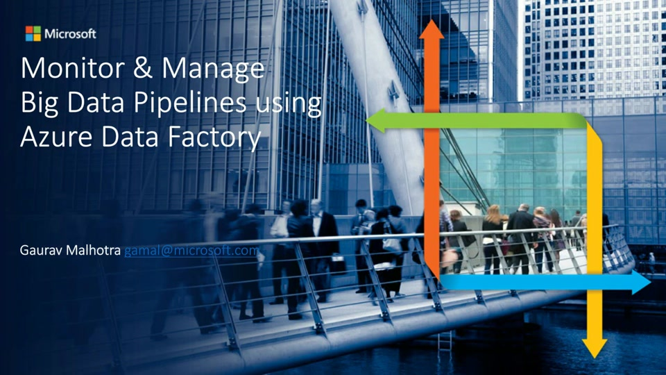 How to Monitor & Manage Big Data Pipelines with Azure Data Factory