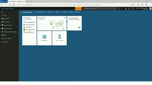 StorSimple 8000 series in the new Azure portal