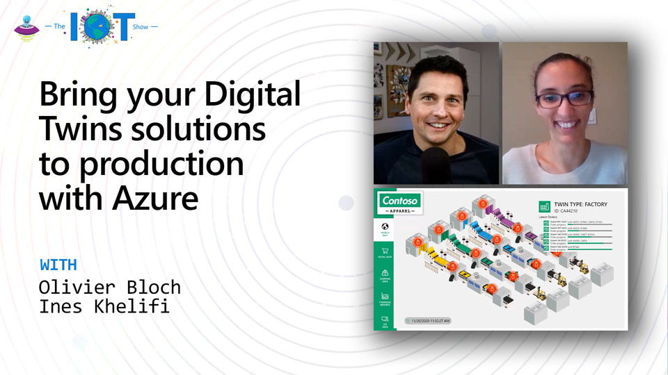 Bring your Digital Twins solutions to production with Azure