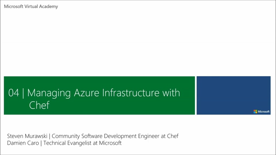 (Module 4) Managing Azure Infrastructure with Chef